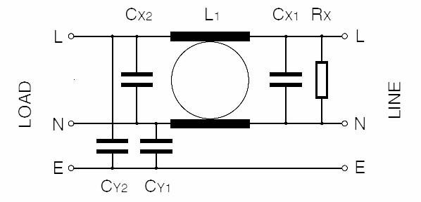 RF 1XX - 1M Single Phase Circuit